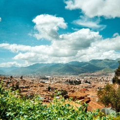 View from Saqsaywaman