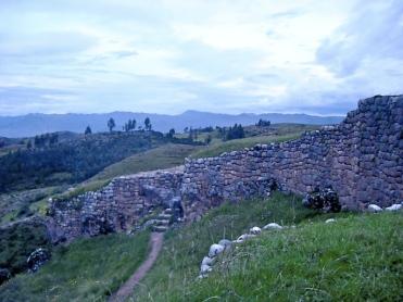 Walls at Puka Pukara