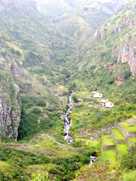 Views from the top of Pisac
