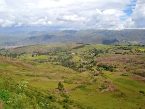 Driving out to Pisac