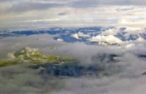 Flying into Cuzco