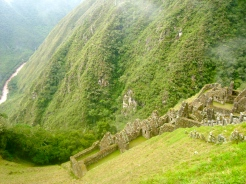 Winyawanya and Urubamba River