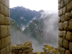 Views from the sacred district of Machu Picchu