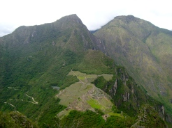 The view from Huayna Picchu